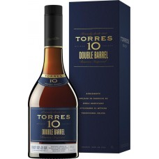 Бренди TORRES 10 Double Barrel 38%, п/у, 0.7л, Испания, 0.7 L