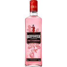 Джин BEEFEATER Pink Strawberry со вкусом клубники 37,5%, 0.7л, Великобритания, 0.7 L