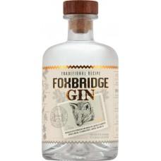 Джин FOXBRIDGE 40%, 0.5л, Россия, 0.5 L