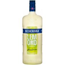 Ликер BECHEROVKA Lemond со вкусом лимона, 20%, 1л, Чехия, 1 L