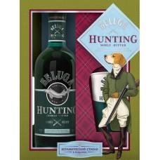 Ликер BELUGA Hunting Herbal десертный 38%, п/у + стакан, 0.7л, Россия, 0.7 L