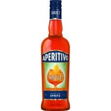 Ликер SORBET Aperitivo Orange Апельсиновый десертный 15%, 0.5л, Россия, 0.5 L