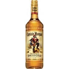 Напиток алкогольный CAPTAIN MORGAN Original Spiced Gold на основе рома, 35%, 0.7л, Великобритания, 0.7 L