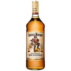 Напиток алкогольный CAPTAIN MORGAN Original Spiced Gold на основе рома, 35%, 1л, Великобритания, 1 L
