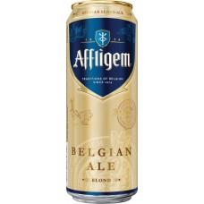Напиток пивной AFFLIGEM Blonde фильтрованный пастеризованный, 6,7%, 0.43л, Россия, 0.43 L
