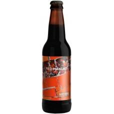 Напиток пивной БАКУНИН Red Maniac Smoked Chili Ipa нефильтрованный непастеризованный неосветленный, 6,8%, 0.5л, Россия, 0.5 L