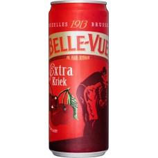 Напиток пивной BELLE VUE Kriek extra пастеризованный, 4,1%, ж/б, 0.33л, Бельгия, 0.33 L