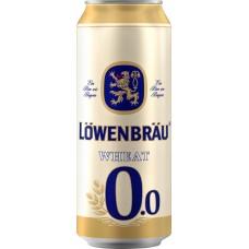 Напиток пивной безалкогольный LOWENBRAU пшеничное нефильтрованный пастеризованный осветленный, не более 0,5%, 0.45л, Россия, 0.45 L