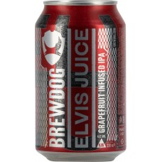 Напиток пивной BREWDOG Elvis Juice фильтрованный, непастеризованный, 6,5%, ж/б, 0.33л, Великобритания, 0.33 L