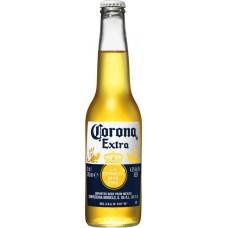 Напиток пивной CORONA Extra пастеризованный, 4,5%, 0.33л, Мексика, 0.33 L
