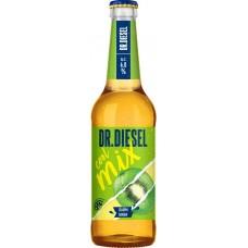 Напиток пивной DR.DIESEL Cool Mix Киви, лайм пастеризованный, 6%, 0.45л, Россия, 0.45 L