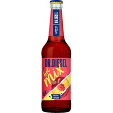 Напиток пивной DR.DIESEL Hot Mix Вишня, персик пастеризованный, 6%, 0.45л, Россия, 0.45 L