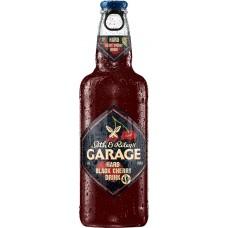 Напиток пивной GARAGE Black cherry, 4,6%, 0.44л, Россия, 0.44 L