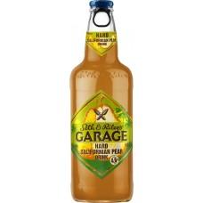 Напиток пивной GARAGE Hard Californian Pear пастеризованный, 4,6%, 0.44л, Россия, 0.44 L