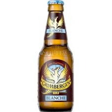 Напиток пивной GRIMBERGEN Blanche пастер. алк.6,00% ст., Польша, 0.33 L