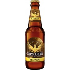 Напиток пивной GRIMBERGEN Blonde пастеризованный, 6,7%, 0.33л, Польша, 0.33 L