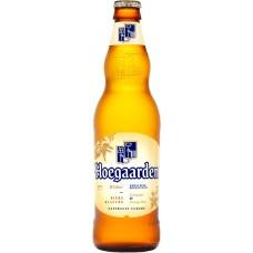 Напиток пивной HOEGAARDEN белое нефильтрованный пастеризованный осветленный 4,9%, 0.44л, Россия, 0.44 L