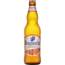 Напиток пивной HOEGAARDEN Грейпфрут нефильтрованный пастеризованный осветленный 4,6%, 0.44л, Россия, 0.44 L