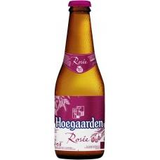 Напиток пивной HOEGAARDEN ROSEE нефильтрованный осветленный пастеризованный, 3%, 0.25л, Бельгия, 0.25 L