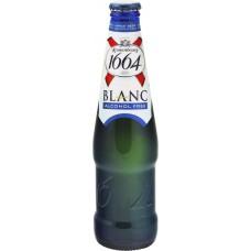 Напиток пивной KRONENBOURG 1664 Blanc б/а алк. не более 0,5% ст., Франция, 0.33 L