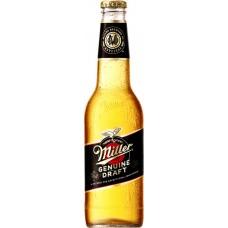 Напиток пивной MILLER Genuine Draft пастеризованный, 4,7%, 0.47л, Россия, 0.47 L