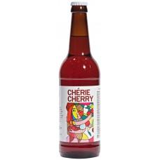 Напиток пивной осветленный KONIX BREWERY Kriek Cherie cherry нефильтрованный, 5%, 0.5л, Россия, 0.5 L