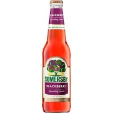 Напиток пивной SOMERSBY Blackberry пастеризованный, 4,6%, 0.4л, Россия, 0.4 L