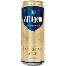 Напиток пивной светлый AFFLIGEM Blonde светлый, 6,7%, ж/б, 0.45л, Россия, 0.45 L