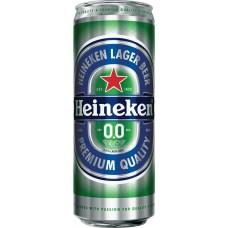 Напиток пивной светлый безалкогольный HEINEKEN пастеризованный, 0,3%, ж/б, 0.45л, Россия, 0.45 L
