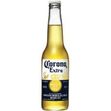 Напиток пивной светлый CORONA Extra светлый пастеризованный, 4,5%, 0,355л, Мексика, 0.355 L
