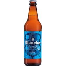 Напиток пивной светлый GLETCHER Blanche De Fleur пшеничный нефильтрованный пастеризованный осветленный, 4%, 0.5л, Россия, 0.5 L