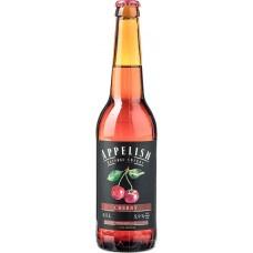 Напиток слабоалкогольный APPELISH Медовуха вишневая полусладкая, 5,9%, 0.5л, Россия, 0.5 L