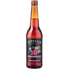 Напиток слабоалкогольный APPELISH Медовуха ягодная полусладкая, 5,9%, 0.5л, Россия, 0.5 L