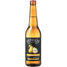 Напиток слабоалкогольный APPELISH Сидр грушевый полусладкий, 5,9%, 0.5л, Россия, 0.5 L