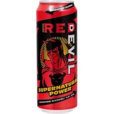 Напиток слабоалкогольный RED DEVIL Supernatural power, 7,2%, ж/б, 0.45л, Россия, 0.45 L