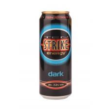 Напиток слабоалкогольный TEN STRIKE Dark, 7,2%, ж/б, 0.45л, Россия, 0.45 L