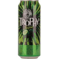 Напиток слабоалкогольный TROPHY Perfect со вкусом фейхоа, 7,2%, ж/б, 0.45л, Россия, 0.5 L