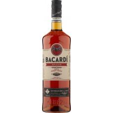 Напиток спиртной BACARDI Spiced на основе рома 40%, 1л, Италия, 1 L
