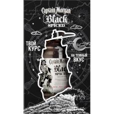 Напиток спиртной CAPTAIN MORGAN Black Spiced Черный Пряный, на основе рома 40%, п/у, 0.7л, Великобритания, 0.7 L