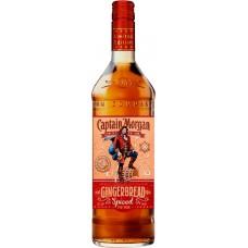 Напиток спиртной CAPTAIN MORGAN Gingerbread Spiced Имбирный пряник, на основе рома 30%, 0.7л, Великобритания, 0.7 L