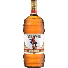 Напиток спиртной CAPTAIN MORGAN Original Spiced Gold на основе невыдержанного рома, 35%, 1.5л, Великобритания, 1.5 L