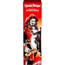 Напиток спиртной CAPTAIN MORGAN Original Spiced Gold Пряный Золотой, на основе рома 35%, п/у, 0.7л, Великобритания, 0.7 L