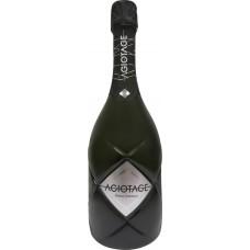 Напиток винный AGIOTAGE газированный белый полусухой, 0.75л, Россия, 0.75 L