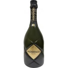 Напиток винный AGIOTAGE газированный белый сладкий, 0.75л, Россия, 0.75 L