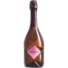 Напиток винный AGIOTAGE газированный розовый сладкий, 0.75л, Россия, 0.75 L