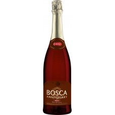 Напиток винный BOSCA Боска Анниверсари газированный красный сладкий, 0.75л, Литва, 0.75 L