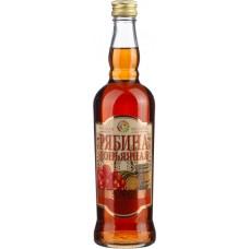 Напиток винный фруктовый РУССКАЯ МОЗАИКА Рябина коньячная сладкая, 14%, 0.5л, Россия, 0.5 L