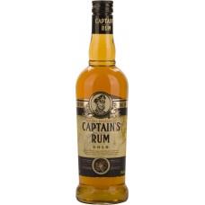 Настойка КАПИТАНСКИЙ Gold со вкусом рома полусладкая, 40%, 0.5л, Россия, 0.5 L