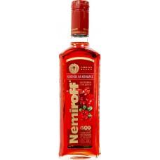Настойка NEMIROFF Клюква на коньяке сладкая, 21%, 0.5л, Россия, 0.5 L