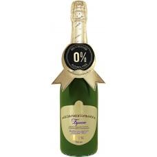 Нектар виноградный безалкогольный ABSOLUTE NATURE брют осветленный газированный, 0.75л, Россия, 0.75 L